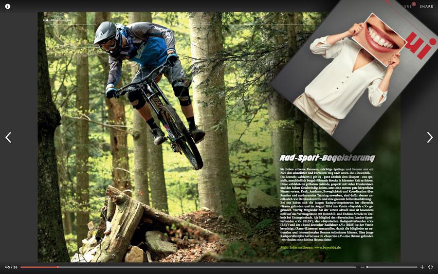 Home bayeride mountainbike downhill enduro team - Ui hauzenberg ...